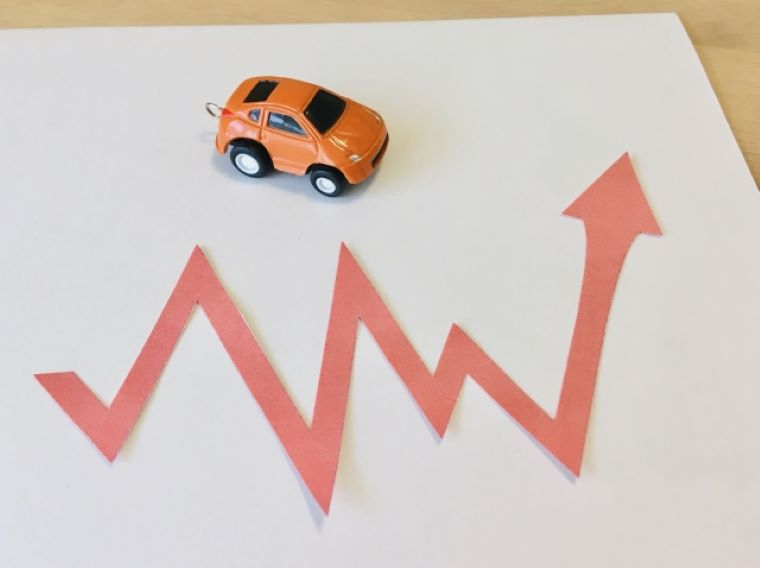車の価格が上がる
