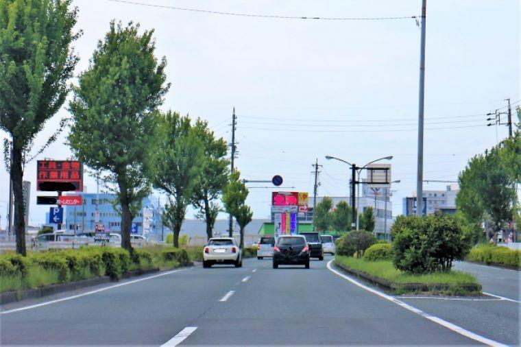 浜松の道路