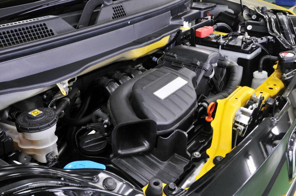 軽自動車のエンジン